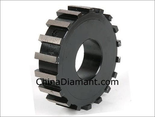 China Diamond Milling Wheel For Concrete Stone Granite