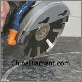Concave Saw Blade Cutting