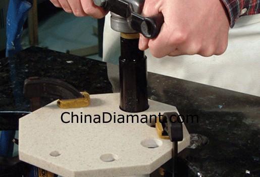China Diamond Drill Bits For Granite Marble Concrete Drilling