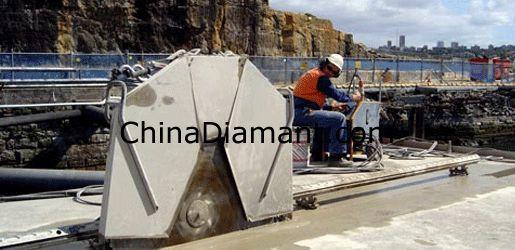 China Concrete Cutting Diamond Saw Blades